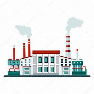 modern factory building icon — Stock Vector © quarta ...