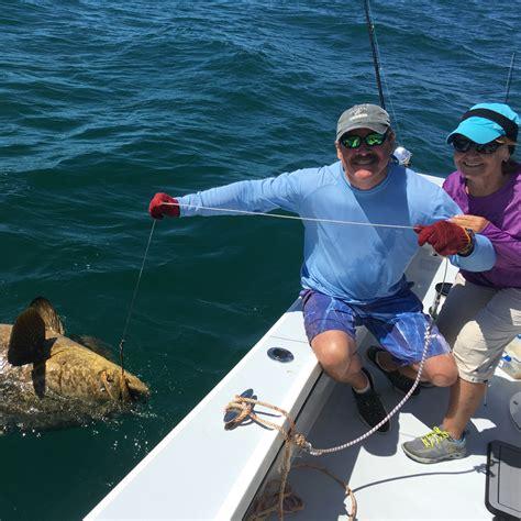 grouper goliath jason having charters