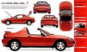 Honda Crx Del Sol 1992 On Motoimg Com