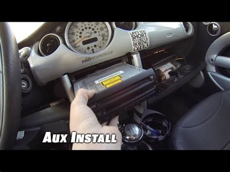 Installing Auxiliary In Car by Installing Aux In A Mini Or Any Other Cars Without An Aux