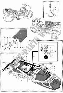 Schaltplan Anlasserrelais Motorrad