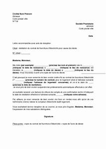 Demande De Raccordement Edf : modele de lettre de licenciement suite deces employeur ~ Premium-room.com Idées de Décoration