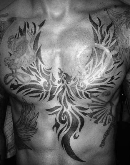 tribal phoenix tattoo designs  men mythology ink ideas