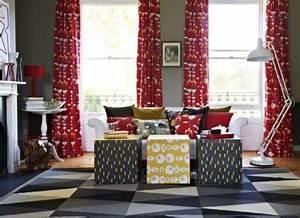 Kombinace barev v obývacím pokoji