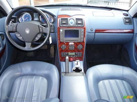 maserati blue interior maserati quattroporte 2005 interior www pixshark com