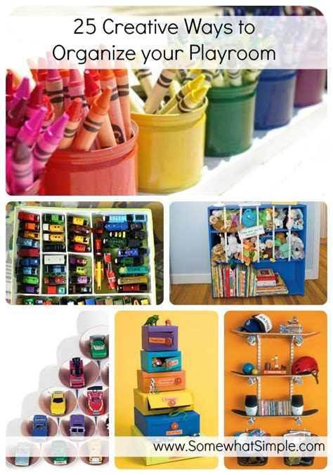 Perfect For The Playroom 25 Creative Ways To Organize