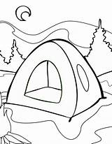 Tent Coloring Summer Camp Pages Colornimbus Drawing Clipart Printable Clipartmag Getcolorings Sleeping Boy sketch template
