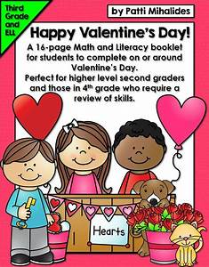 Happy Valentine's Day Activity Booklet/Worksheets: Perfect ...