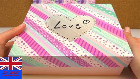 how to decorate with washi diy glossy box tutorial how to decorate a glossybox
