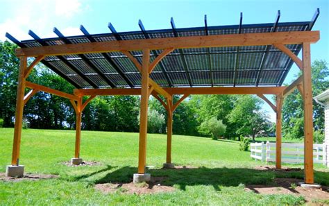 solar pergola traditional patio philadelphia by