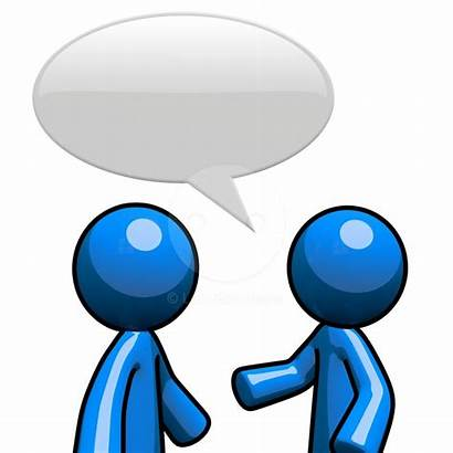 Clipart Chat Clip Bubble Speech Talking Person