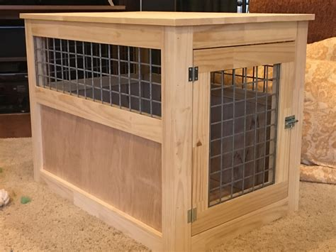 ana white slightly altered large dog kennel  table
