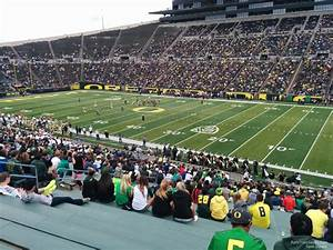Autzen Stadium Seating Chart Autzen Stadium Section 8 Rateyourseats Com
