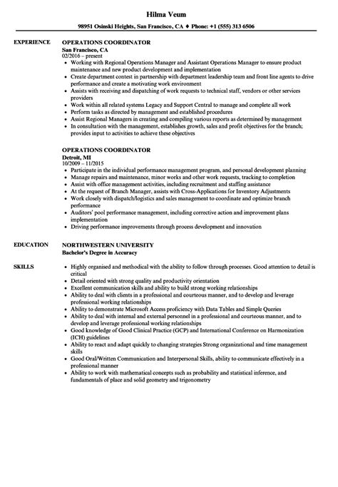 advertising coordinator sle resume sle engineer