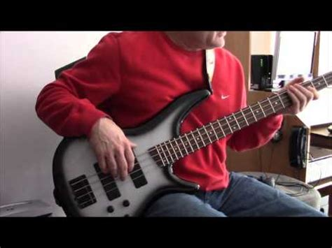 ibanez sr250 bass guitar review youtube