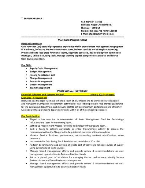 Great Procurement Resumes by Resume Procurement