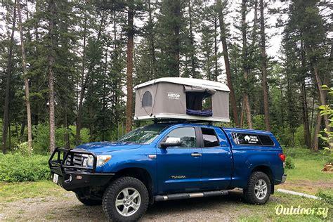 toyota tundra motor home truck camper rental