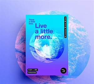 20 Modern & Elegant Gradient Poster Designs   Web ...