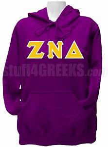 zeta nu delta greek letter pullover hoodie sweatshirt purple With delta zeta letter sweatshirts
