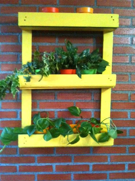 reciclar  mueble  palets  decorar jardin