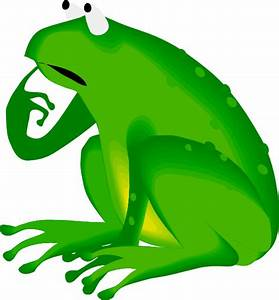 Forgetful Frog Clip Art at Clker.com - vector clip art ...