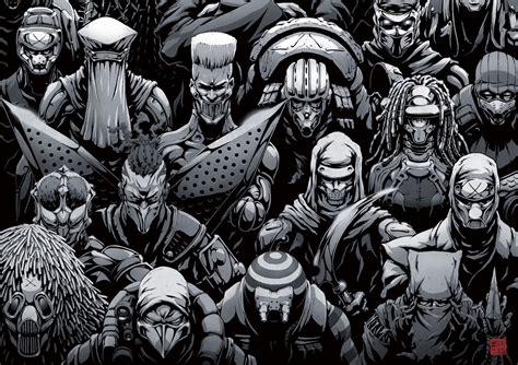 Slayer From Animation Wallpaper - slayer ninjasureiya sci fi cyberpunk fighting