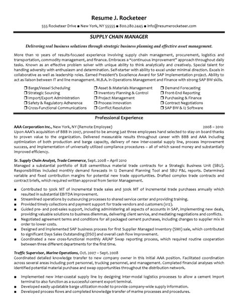 warehouse manager resume exles http www