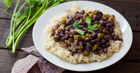 rice and beans the perfect black bean and rice recipe a family favorite