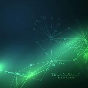 Green tech background modern vector - Vector Background ...