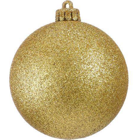 glitter baubles gold dzd