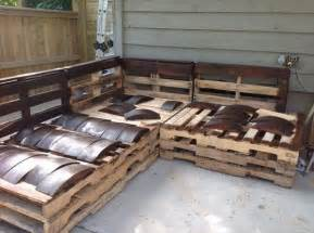 pallet outdoor furniture designs pallets designs