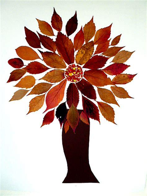 Herbst Baum Fenster by Baum Als Mandala Geklebt Pflanzen Basteln Meine Enkel