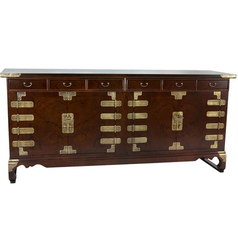 antique buffet cabinet furniture oriental furniture walnut korean antique style double