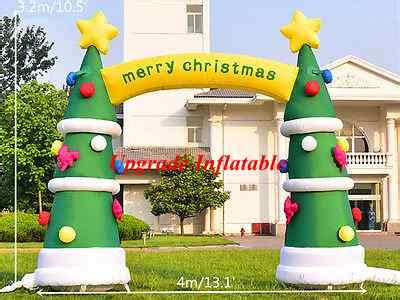 merry christmas outdoor decorations aliexpress buy 4m merry tree arch outdoor decoration