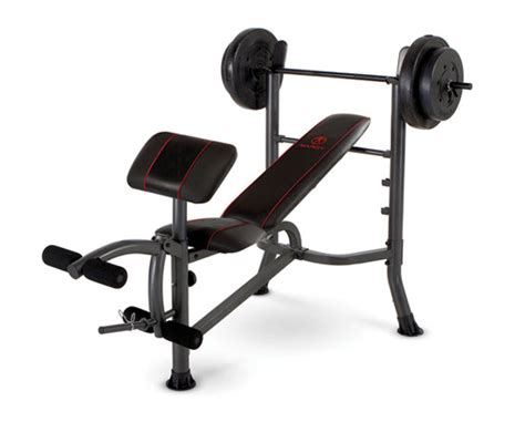 marcy weight bench set marcy mwb 26780s standard weight bench with 80 lb