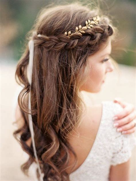 braided crowns hairstyles for the summer arabia weddings