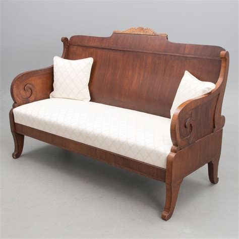 Biedermeier Sofa by A Russian Biedermeier Sofa Mid 19th Century Bukowskis