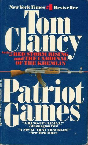 patriot games jack ryan   tom clancy reviews discussion bookclubs lists