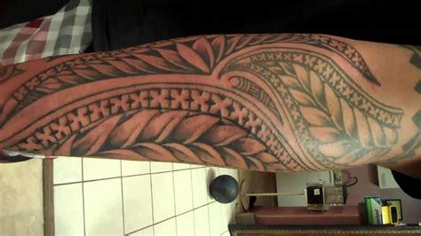 kamakas poly tribal forearm tattoofreehand youtube
