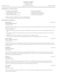 financial operations associate resume business and financial operations resume sles