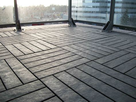 Fliesen Balkon by Quot After Quot Of Our Charcoal Grey Outdoor Floor Balcony