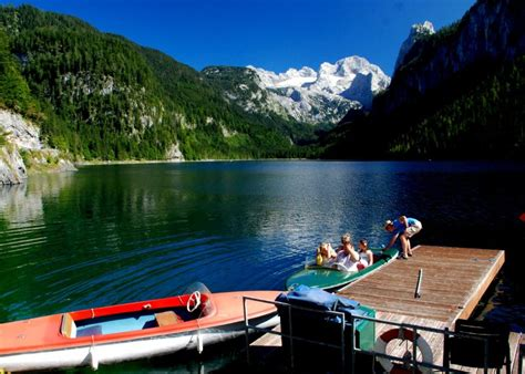 Round Lake Boat Rental by Bootsverleih Am Gosausee 187 Ihr Websitename