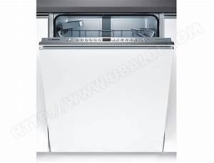Lave Vaisselle Tout Integrable : bosch smv46ix03e lave vaisselle tout integrable 60 cm ~ Nature-et-papiers.com Idées de Décoration