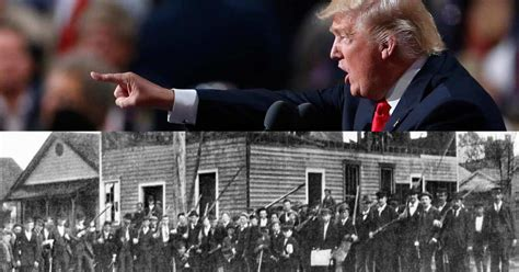 trump history scary wilmington amendment second action donald call record ruins rioters trumps nation bottom thenation
