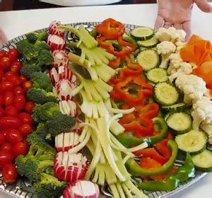 vegetable relish tray  fourth  july dinner recipe