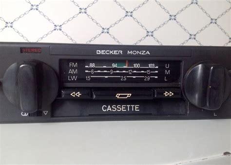 Becker Monza Car Radio Cassette Stereo Lmku Type 569 Q