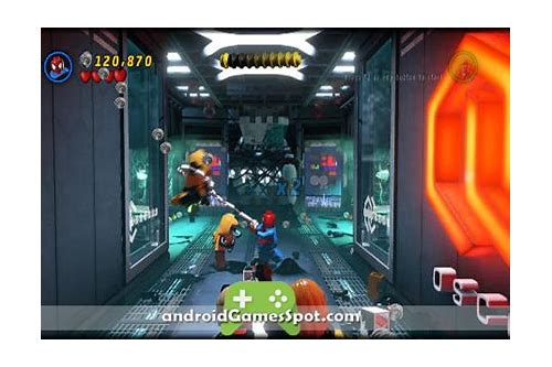 lego marvel games download