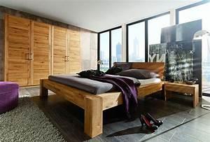 Schlafzimmer Komplett Holz : massivholz nachttisch nachtkonsole nachtkommode wildeiche massiv holz ~ Indierocktalk.com Haus und Dekorationen