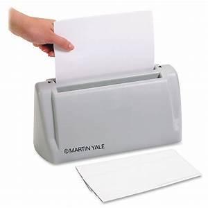 martin yale desktop letter folder ld products With electric letter folder