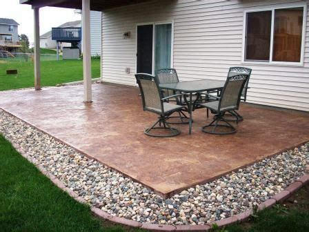 Backyard Concrete Ideas by I Really Like The Hues Of This Patio Which Is Made Of